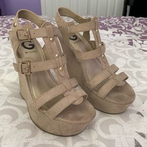 Shoes - Guess Wedges 6.5